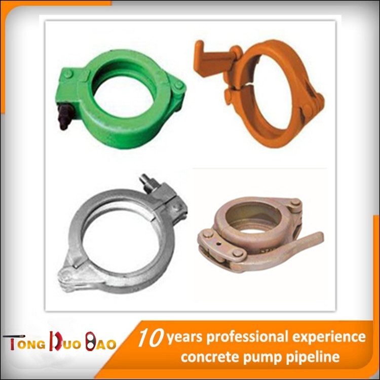 "high pressure baked painting 5.5"" pipe clamp/ seal"