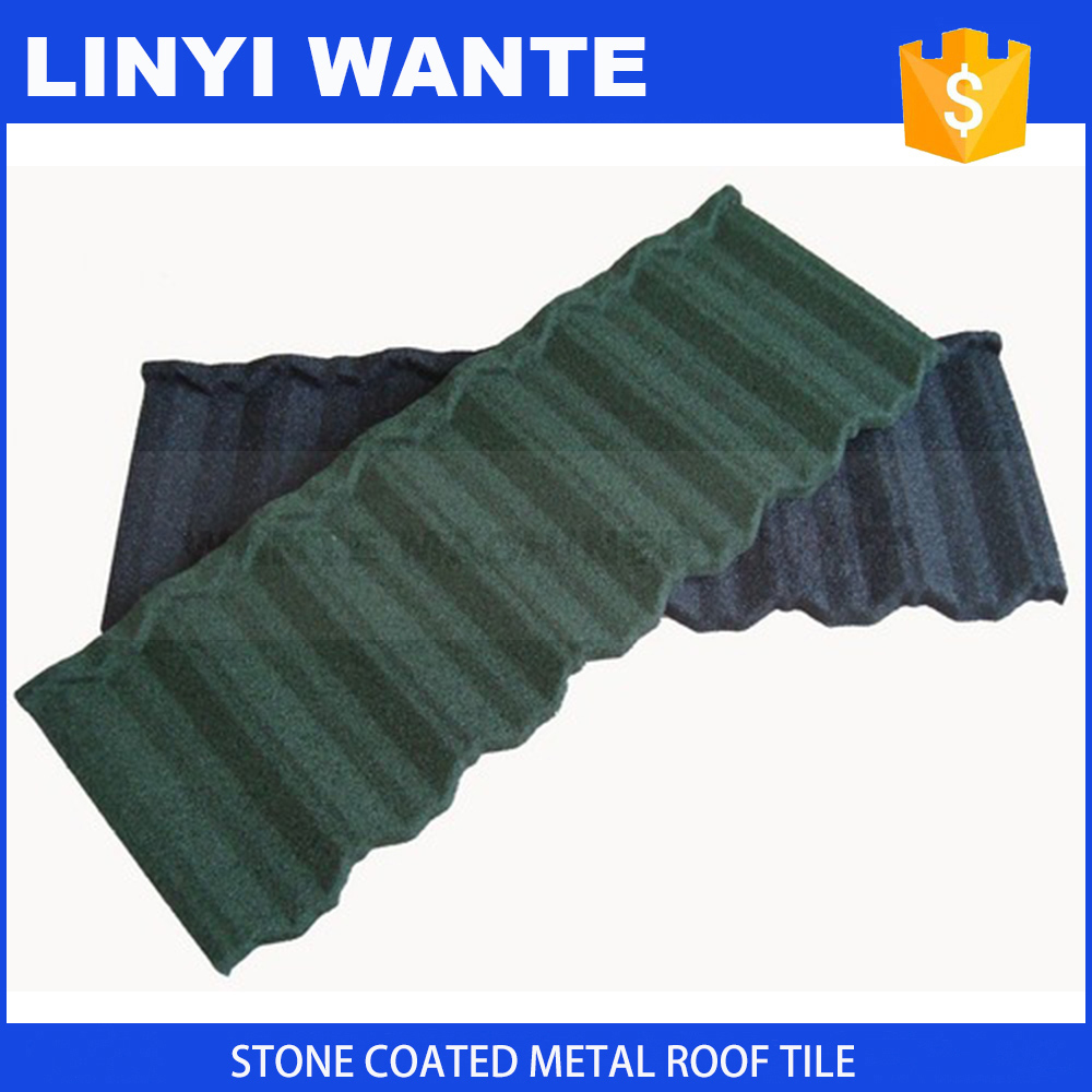 stone granule coated steel roof tile