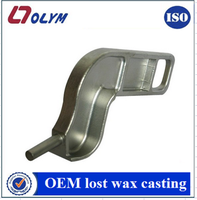 China factory OEM car automobile spare parts steel lost wax casting