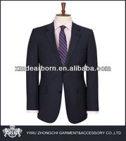 two button navy male suit