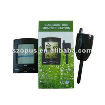 Wireless Soil Moisture Meter with Thermometer XH300