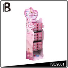 China factory custom pink lighter display stand