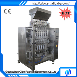 Alibaba China automatic multi-lanes packing machine for food commodity