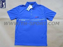 Blue Golf Polo Shirts For Men