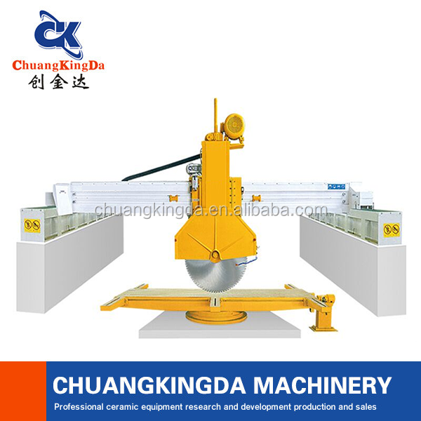 CKD-600 Big blade bridge saw granite slab cutting machinery