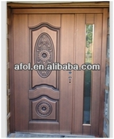 Afol high definition embossed copper door