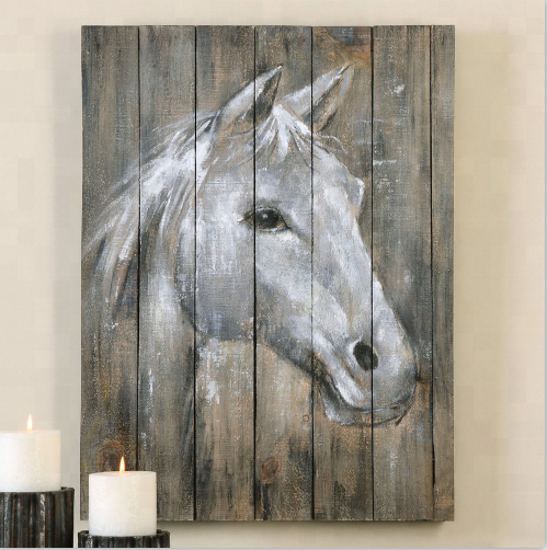 Custom Horse Wood Wall <strong>Art</strong>