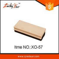 Multiple color for selection whiteboard duster, wooden white black board, eraser pad for flip chart