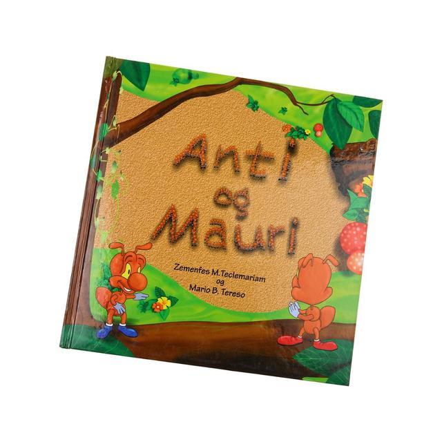 cardboard customized perfect binding child book printing