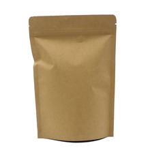 Hot sale aluminum foil stand up snack food kraft paper zipper bag for packaging fig , plum , nuts
