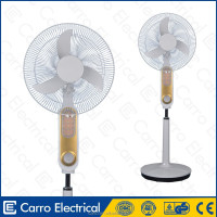 "China wholesale dc 12v 16"" 18"" solar emergency stand fan solar stand fan"