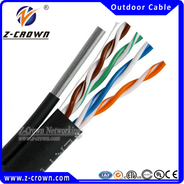 High quality ethernet messenger wire cat5e cables cat6 cable,network cable maker in shenzhen factory