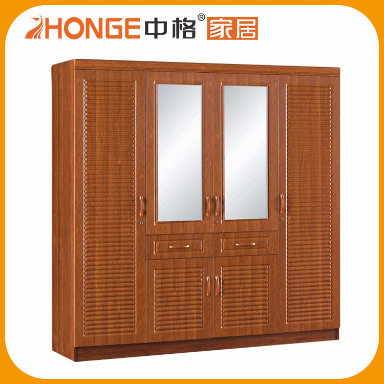 High Quality Big Size PVC Removable MDF Big Wardrobe