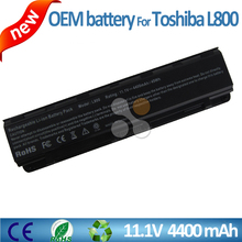 11.1v 4400mah M800 M805 C805 L830 L850 C850 C870 L800 Laptop battery for Toshiba Satellite replacement laptop parts