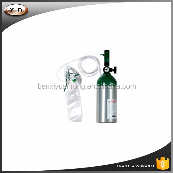 Oxygen cartridge/portable oxygen cylinder