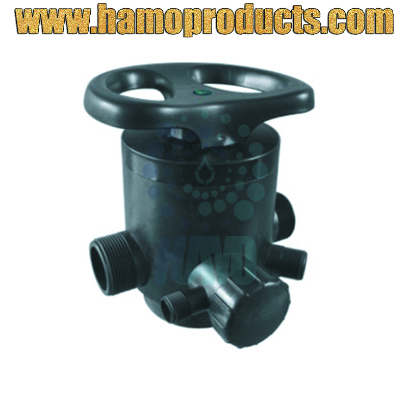 "F64B 2m3/h 1/2""M Water Softner Control Valve/Manual Multi-port Softener Valves"