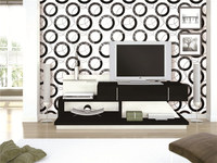 cheap and good design pvc wallpaper manufacturer made in China