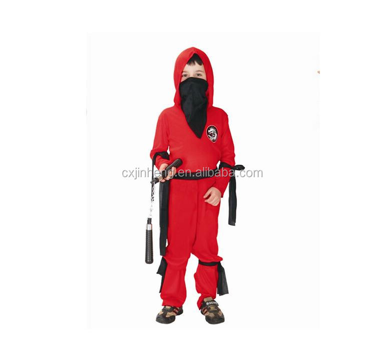 Cosplay starwars dress Red Knight Halloween costumes for children