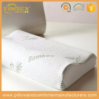 Portable bamboo charcoal pillow