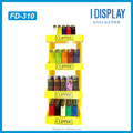collapsible cardboard floor standing display rack for Clipper lighter