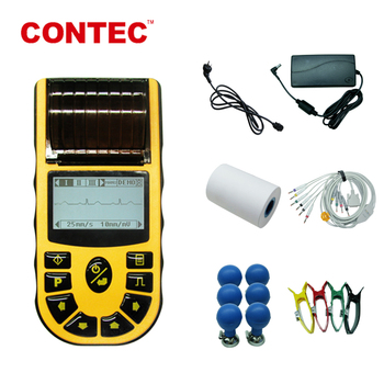 CONTEC ECG08A medical electrocardiographs ecg portable device