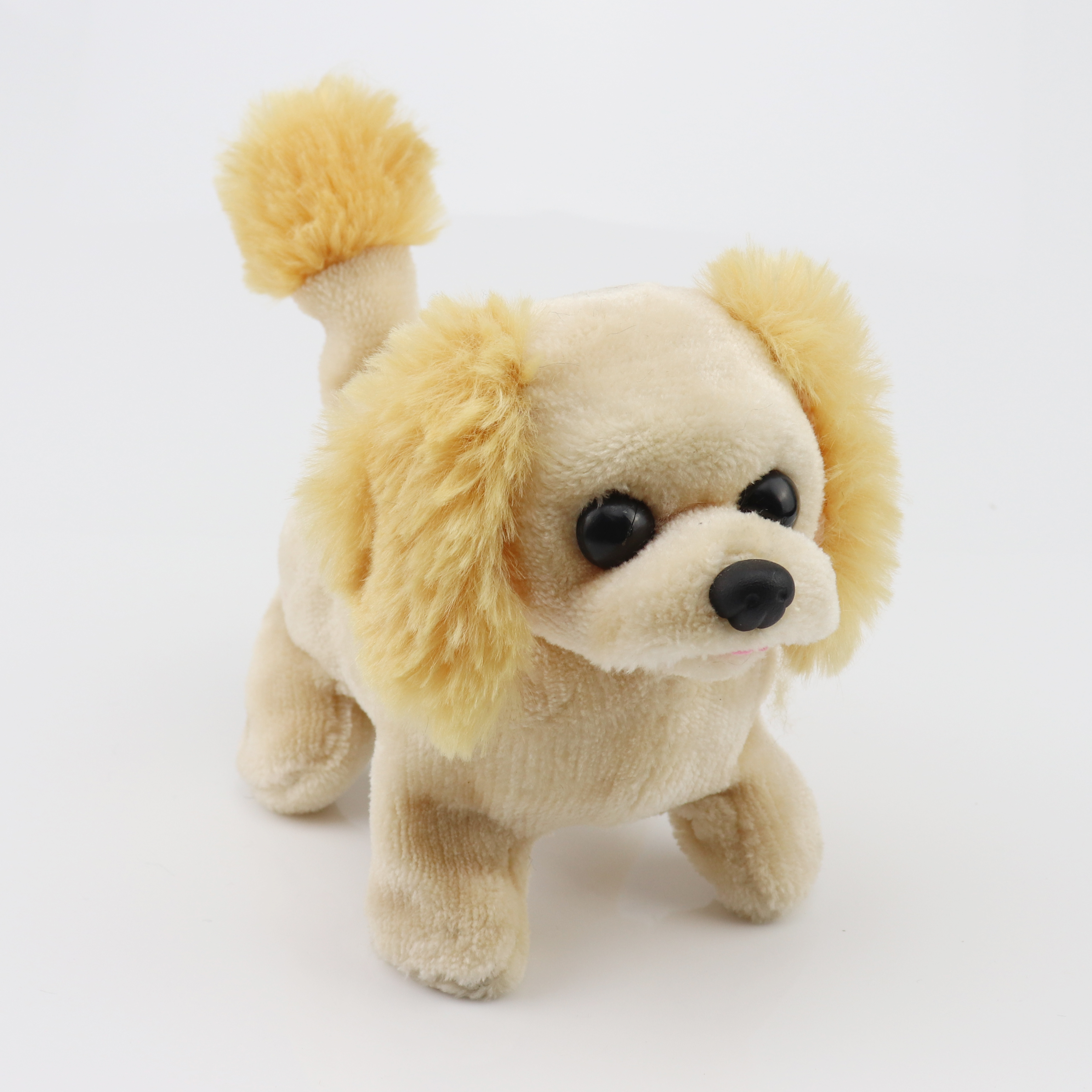 SENJOHN stuffed <strong>animal</strong> walking bouncing dog motion activated plush toy