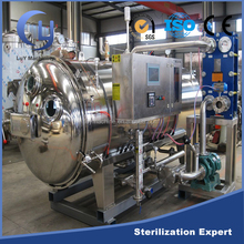 Automatic stainless steel cooking retort sterilizer autoclave