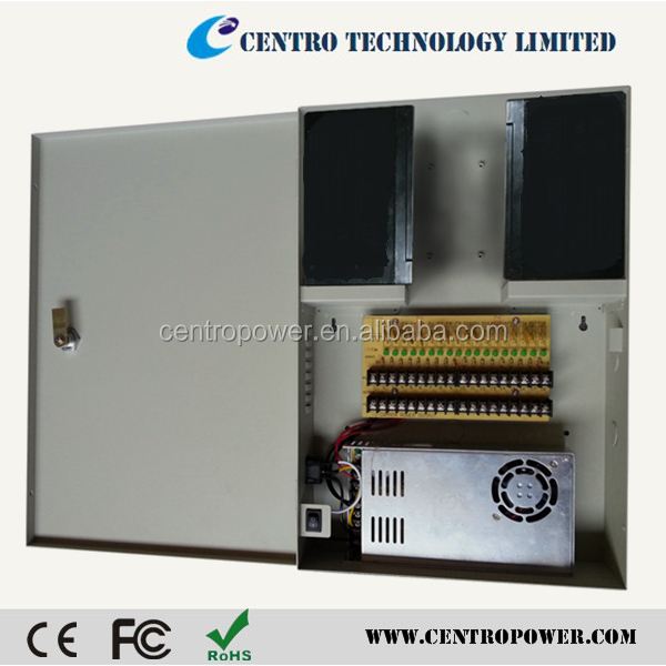 high quality 30A 18ch switching power supply 12V with UL