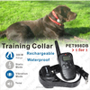 Rechargeable and Waterproof electric shocker Remote dog shock collar with electronics