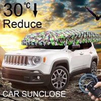 SUNCLOSE car accessories interior front window shades type Automatic Car Covers