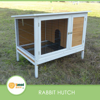 New Colors Wooden Rabbit Cage pet house