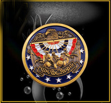 Custom military nypd challenge coins