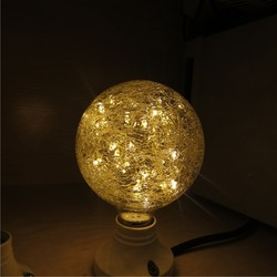 Wholesale Vintage Light LED Mermaid String Bulb G80 G95 Sphere Shaped E26 E27 Screw Base