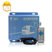 Truck electronic throttle speed limiter alarm device