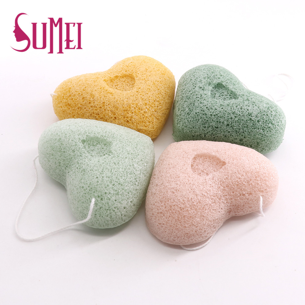 Natural cleaning Face 100% Pure Konjac Sponge