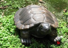 life size tortoise bronze sculpture for garden decor