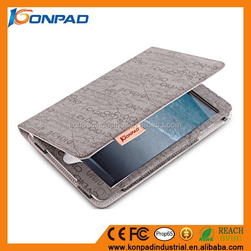 Super magnetic full protective cover,leather case for tablet pc,flip leather tablet case for 9.7 inch tablet PC
