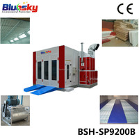 2015 good choice China supplier CE painting auto/paint booth fan/spray booth for car