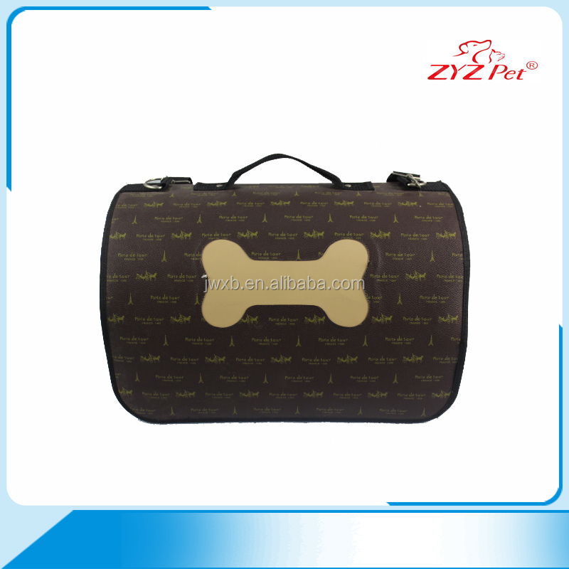 2016 cute stylish customized durable pet products pet carrier bag