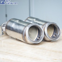 KET N20 high quality direct fit catalytic converter with metallic substrate for 320 vehicles