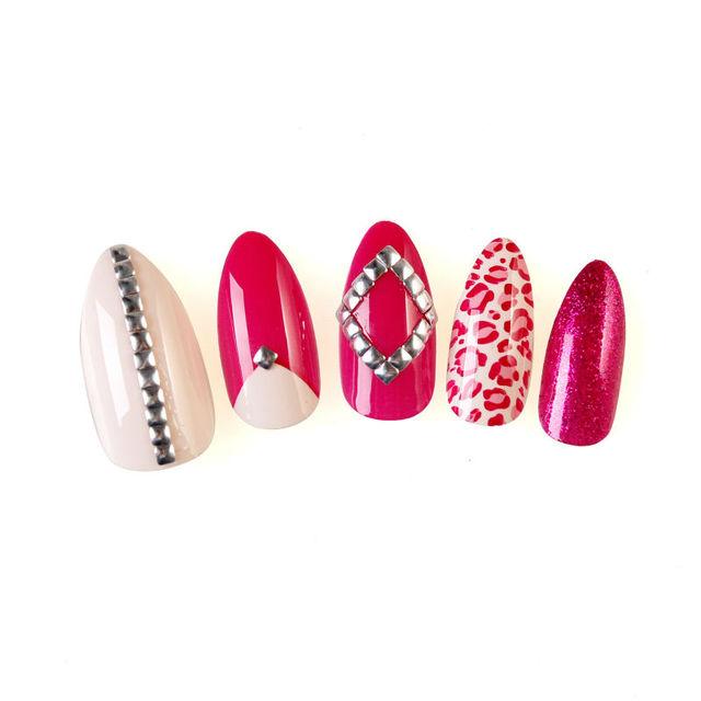 artificial elegant nail art_Yuanwenjun.com