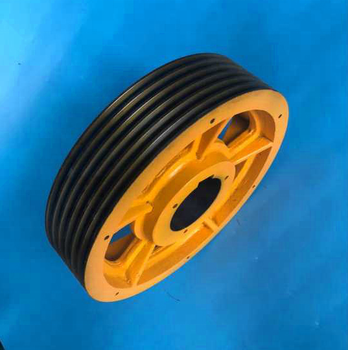 405*4/5/6*10mm groove pulley wheel thyssen traction wheel