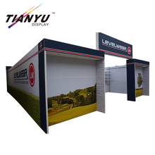 10x20feet trade show booth exhibit stall display