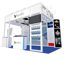 Detian Display Offer Fashionable led lights modular booth exhibition for tradeshow equipment