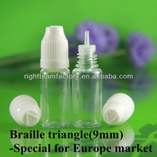 ISO 8317/SGS/TUV certificate pet bottling scrap white clear flakes,eye dropper bottles with childproof tamperproof cap