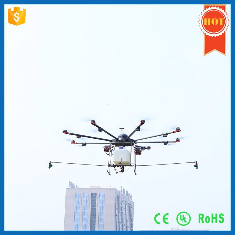 5kgs tank pesticide crop spraying drone , agriculture uav drone sprayer