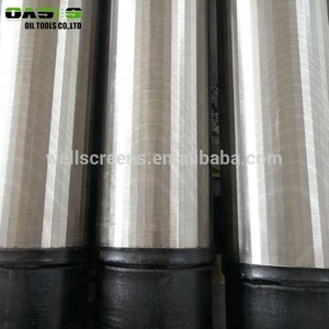 Stainless Steel Johnson V Wedge Wire Screen Pipe Use for Water Filter