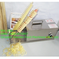 stainless steel spiral potato chips maker,twister potato cutter,3 in 1