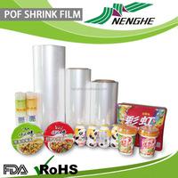 Water proof PE film stretch film shrink polyolefin packing plastic film