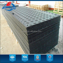 HDPE ground protection roadway plate
